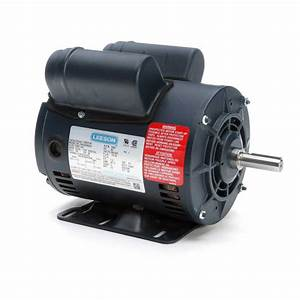 Leeson Electric Motor 116523 00 5hp Special 3450 Rpm