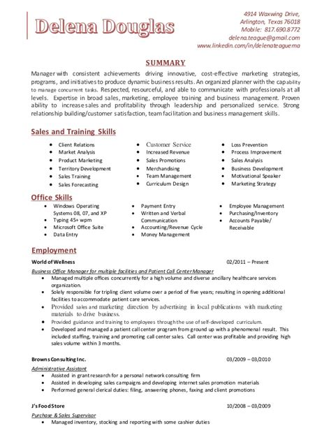Certifications To Improve Resume by Delena Teague Skills Resume 1