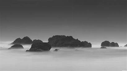 Resolution 4k Grey Desktop Rocks Sea Itl