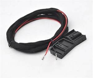 2x Led Rear Tail Light Retrofit Wiring Harness Cable For