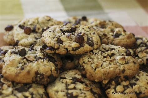 cuisine diy recette cookies chocolat noisettes les lubies de louise