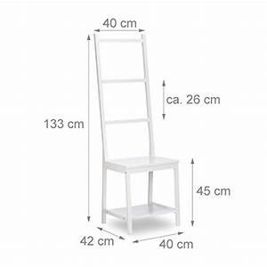 Handtuchhalter Weiß Metall : relaxdays kleiderst nder handtuchst nder herrendiener badstuhl bambus hxbxt 133 x 40 x 42 ~ Markanthonyermac.com Haus und Dekorationen