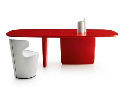 Tobi-ishi Rectangular Table B&b Italia