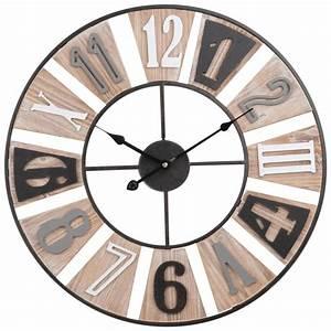 Horloge En Metal : horloge en m tal maisons du monde ~ Teatrodelosmanantiales.com Idées de Décoration