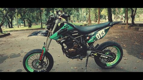 Modification Kawasaki Klx 250 by Kawasaki Klx Supermoto Modification Indonesia