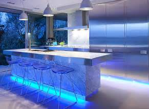 top 3 led lighting ideas for the home going green is in style - Kitchen Led Lighting Ideas