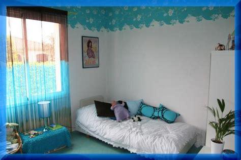 chambre noir et turquoise chambre 13 ans