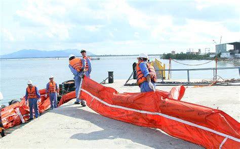 Tugboat Training by Tugboat Sea Winner Is In Training Oil Spill Response At