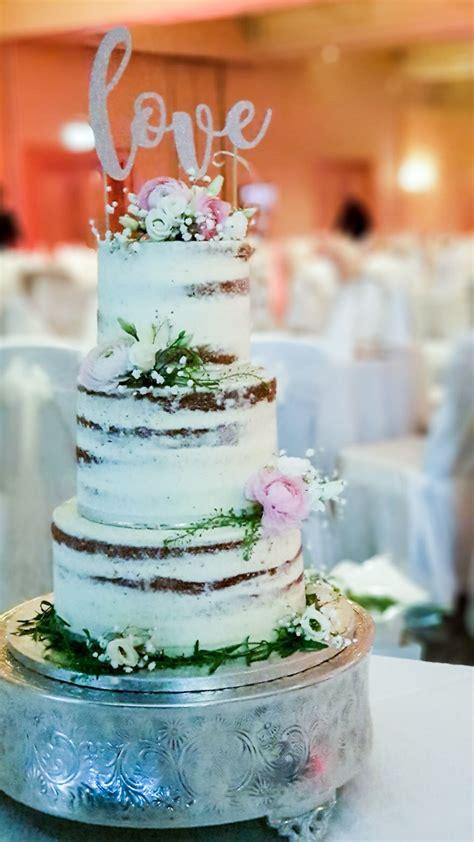 naked semi naked wedding cakes kelly lou cakes
