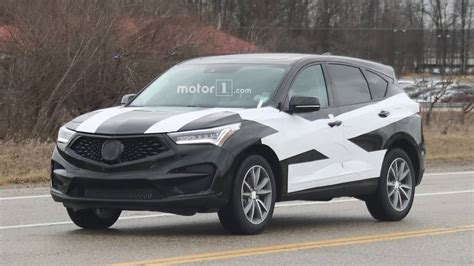 2019 Acura Rdx Spied In Production Form