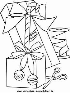 Weihnachtsgeschenke Zum Ausmalen : ausmalbilder weihnachtsgeschenke ausmalbild ~ Watch28wear.com Haus und Dekorationen
