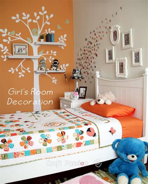 Girl's Bedroom Decoration Ideas  Home Decor  Craft Passion