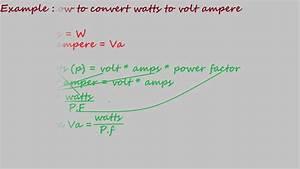 Watt Volt Ampere : how to convert watts to volt ampere electrical formulas ~ A.2002-acura-tl-radio.info Haus und Dekorationen