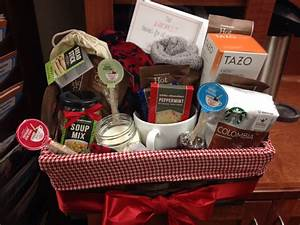 quotour warmest thanksquot gift basket as a farewell to coworker With wedding gift for coworker