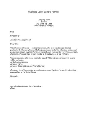 I generally think the best first step is a written request for expedited processing. 23 Printable Business Letter Format Templates - Fillable ...