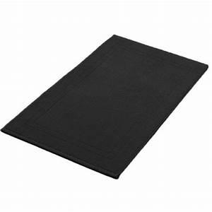 tapis de bain rond noir ciabizcom With tapis de bain noir