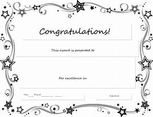 Free Printable Certificates Templates Word & Sample ...