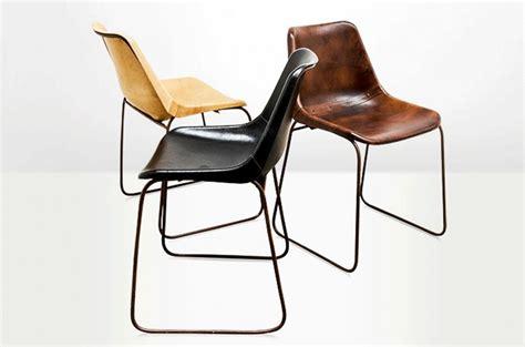 chaises cuir chaise godard cuir naturel arteslonga