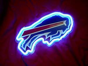 Wiki Neon Sign Blog NFL BUFFALO BILLS FOOTBALL BEER NEON