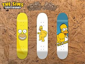 The Sims Skateboard Decks Design - Mad-Potter.com