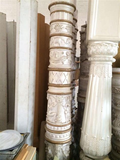 secondhand prop shop indian indian pillar set leicester
