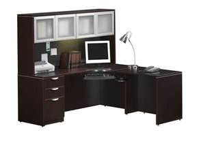 Cheap L Shaped Desk With Hutch by Furniture Large Corner Desk With Hutch And Storage Ideas