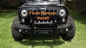 Metalcloak Front Bumper Install On A Jeep Jk