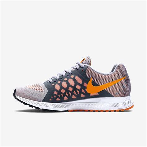 nike womens air zoom pegasus  running shoes titanium