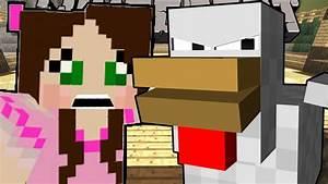 Minecraft: POPULARMMOS TURNS INTO A CHICKEN - A CHICKEN'S ...  Popularmmos