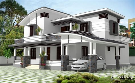 Unique And Beautiful Architectural House Design Kerala