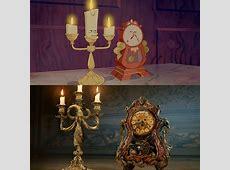 Photo La Belle et la Bête comparaison de Lumière et Big