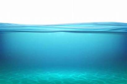 Ocean Floor Vector Underwater Lake Surface Under