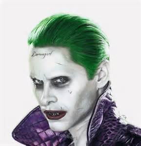 Suicide Squad Joker Drawings From