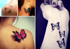 Idée De Tatouage Femme : tatouage papillon top 100 des tattoos papillon pour femme ~ Melissatoandfro.com Idées de Décoration