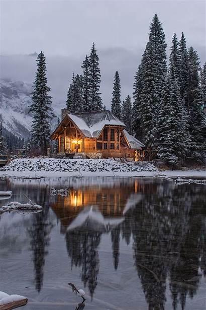 Winter Hashtags Cabin Cozy Instagram Lake Unsplash