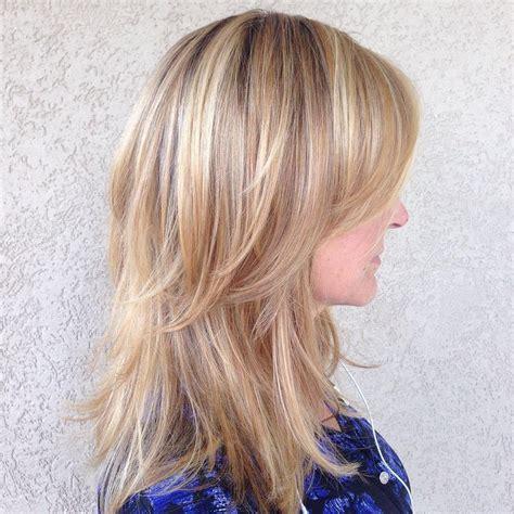 how to style medium layered hair 70 darn cool medium length hairstyles for thin hair