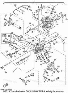 Yamaha Motorcycle 2001 Oem Parts Diagram For Carburetor