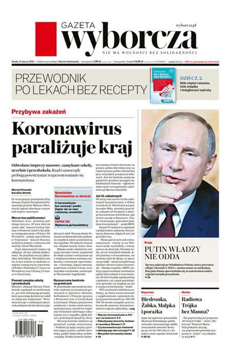 e-Kiosk.pl - Gazeta Wyborcza (Stołeczna) 11.03.2020 (59)