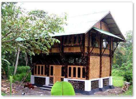 kontraktor interior surabaya sidoarjo desain rumah bambu