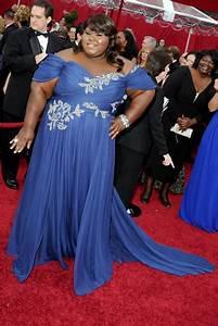 Gabourey Sidibe's Blue Marchesa Dress For The 2010 Oscars ...