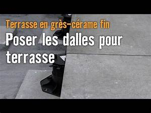 terrasse en gres cerame fin chapitre 5 poser les dalles With joint polymere dalle terrasse