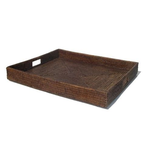 dining table large rattan tray for coffee table jl tv room kitchen