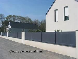 cloture alu portail cloture facade pinterest cloture With awesome photos terrasses et jardins 5 portail alu decoupe laser