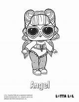 Lol Coloring Angel Surprise Doll Lotta Dolls Confetti Pop Sugar Printable Lottalol Unicorn Adult Birthday Colouring Ball Bb Redirect Bunny sketch template
