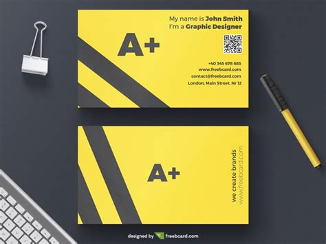 Minimal Yellow Agency Business Card Template Instagram Business Card Template Sheet Indesign Size Visiting Design Images For Doctors In Adobe Photoshop Apec Travel Application Japan Illustrator Free Templates