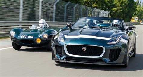 Jaguar's Reportedly Working On An F-type Gt4 Racer