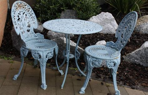 Cast Iron Patio Furniture by Cast Iron Patio Set Table Chairs Garden Furniture Ncis N
