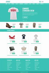 16 premium and free psd website templates With e commerce sites templates