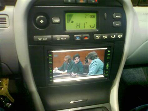 jaguar  type double din fascia panel dvd sat nav