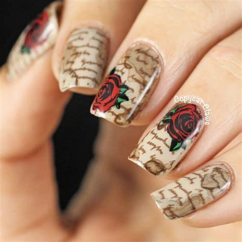 creative newspaper nail art design ideas poutedcom